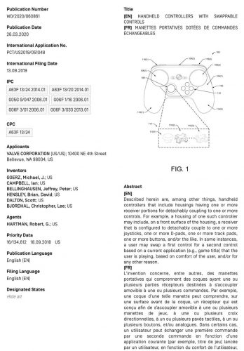 """Tyler McVicker on Twitter: """"A new patent has been published from Valv…"""